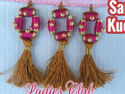 Saree Tassels I Saree Kuchu Making with beads I New design I Tutorial