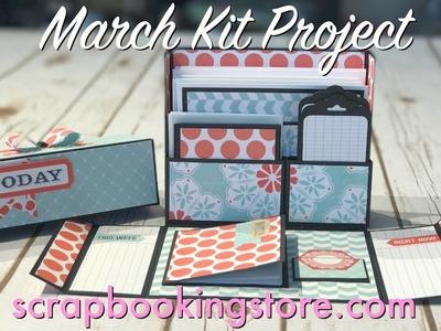 Scrapbookingstore.com March Kit Project