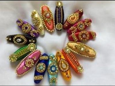 SILK THREAD SAREE  PINS MODELS ::::FOR LADIES