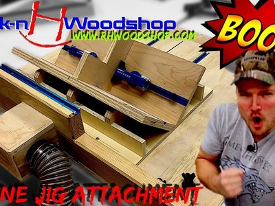 Spline Jig Attachment for Ultimate Crosscut Sled with DC. How to