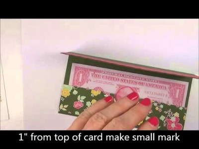 Stampin Up 2014 Convention Money Card Holder Swap Card