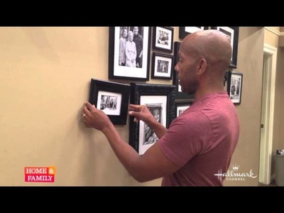 Tricks for hanging photos in your home from @kennethwingard!