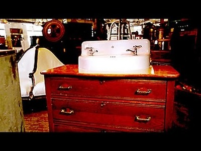 Turn a Dresser Into a Vanity
