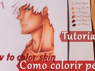 Tutorial #1 Como colorir pele.How to color skin Part 1