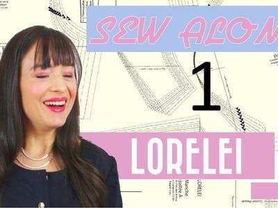 Tutoriel couture: sew along de la robe Lorelei 1