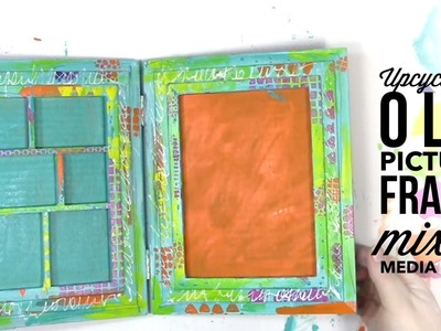 Upcycle an Old Picture Frame Mixed Media Style Tutorial