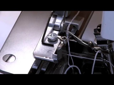 Use a Serger and fishing line in Cording for decorative edges
