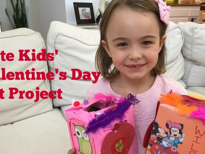 Valentine's Day Art Project for Kids!