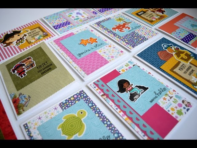 10+ Cards 1 Kit with Scrapping for Less June Flavor of the Month Kit 2017