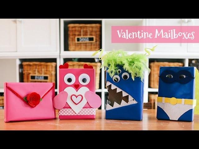 4 Valentine Mailboxes