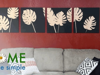 Add Tropical Decor to Any Room With This 30-Minute Project | Home Made Simple | OWN