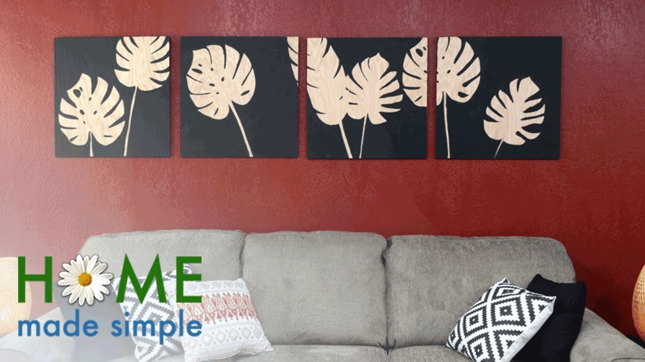 Add Tropical Decor to Any Room With This 30-Minute Project   Home Made Simple   OWN