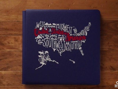 Americana Album Cover and Paper Pack by Creative Memories