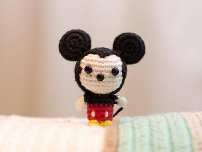 Amigurumi | Como hacer Mickey mouse en crochet | Bibiana Mejia Crochet 2017