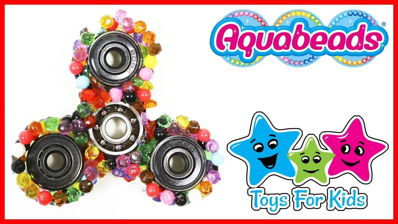 Aquabeads Fidget Spinner DIY