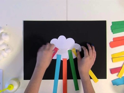 Art with Heart - Clouds and rainbows