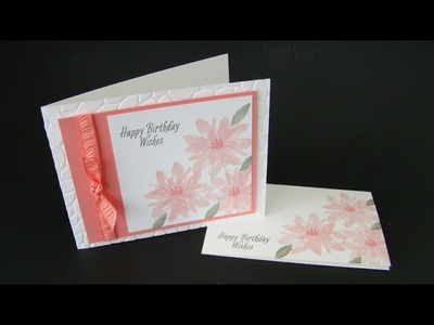 Avant Garden Triple Flower Cards