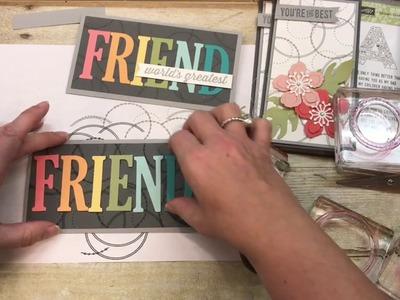 Beautiful Feminine cards using Stampin Up's Eastern Beauty Stamp set including custom Envelopes