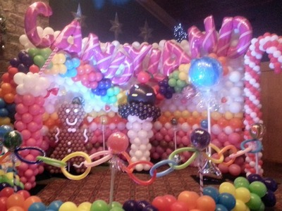 Candy Land by Airheads Balloon Art