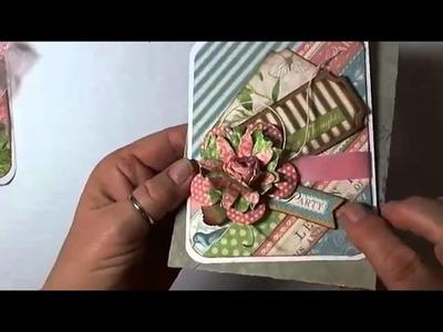 Card Making: A Bakers Dozen Cards Using Graphic 45 Botanical Tea