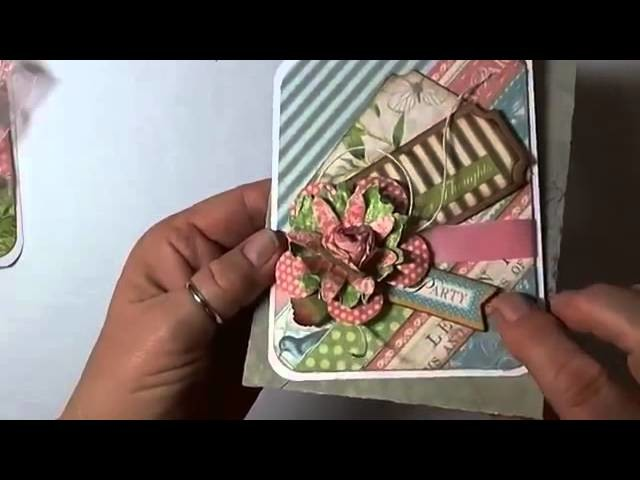 Card Making: A Bakers Dozen Cards Using Graphic 45 Botanical Tea