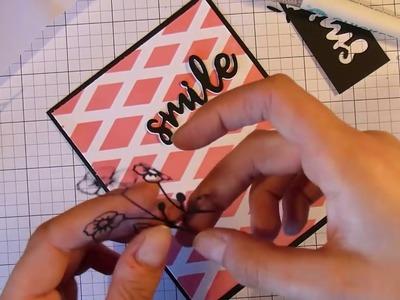 Card Making using Aliexpress Dies || DIY Background