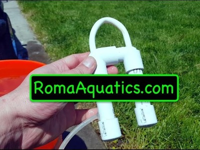 Cheapest & Smallest Do It Yourself (DIY) PVC Overflow (Drip Systems) - RomaAquatics.com ????