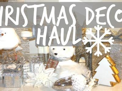 Christmas Decor Haul