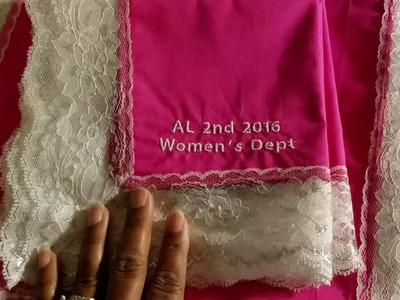 Church of God in Christ Women's Convention Lap Scarves and Handkerchiefs