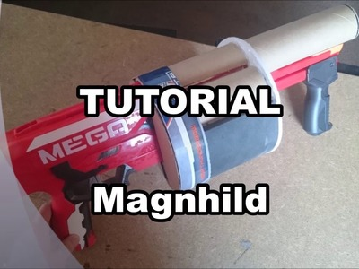 [COSPLAY TUTORIAL] Nora's Magnhild RWBY with Nerf Blaster PART 1 [English Subs]