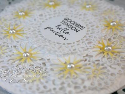 Daisy Chain Collection - Daisy Circle Card
