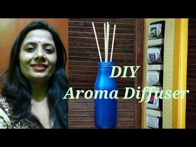 DIY Aroma Diffuser - All About Reed Stick Aroma Diffuser And Health benefits of Essential Oils