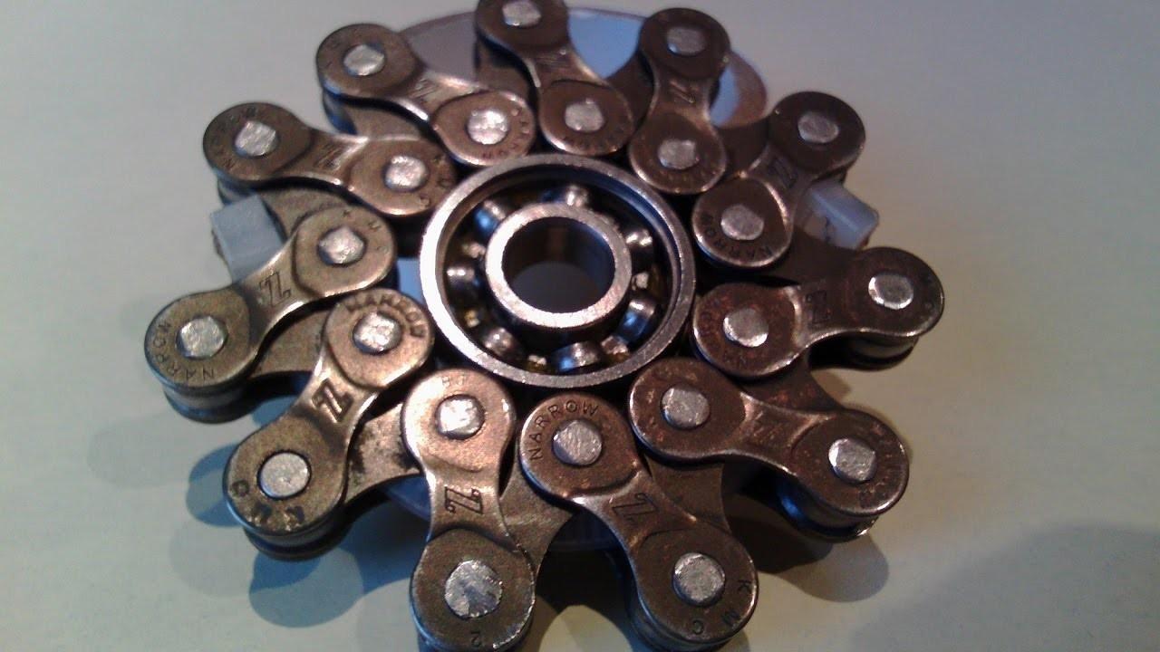 DIY Chain FIDGET SPINNER. HAND SPINNER en chaine. M_H4CKS #1