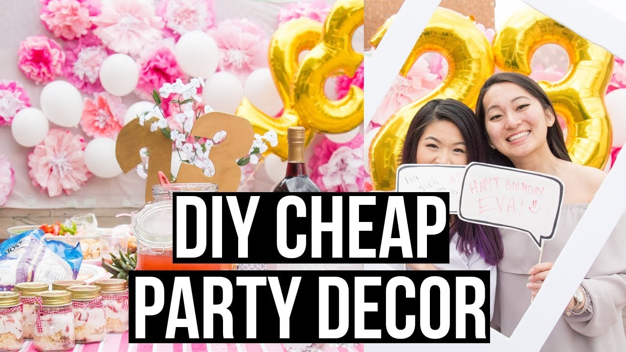DIY Cheap And Easy Dollar Store Party Decorations, Eva Chung