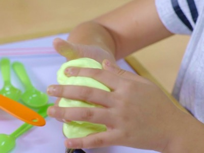 DIY Glow In The Dark Slime with Fevicol