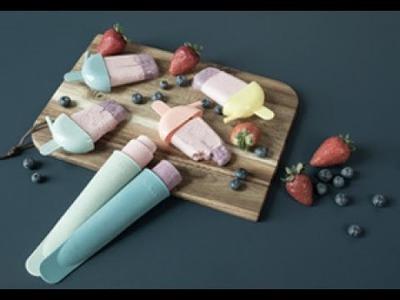 DIY: Homemade frozen yoghurt with fresh berries by Søstrene Grene