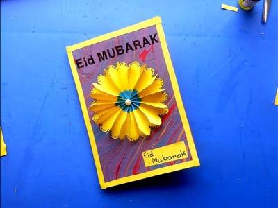 Diy: how to make 3D Handmade Eid Mubarak Card
