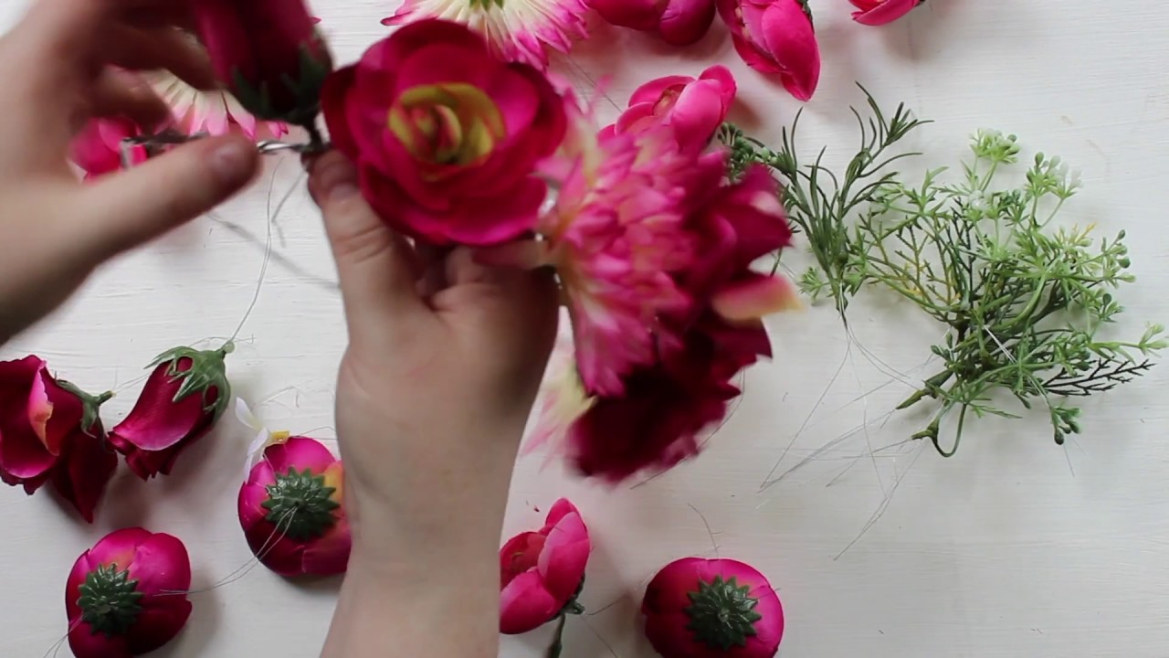 DIY: How to Make a Flower Crown