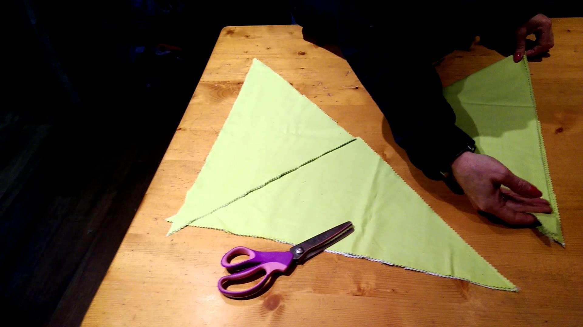 Dog grooming bandanas, the no sew method.