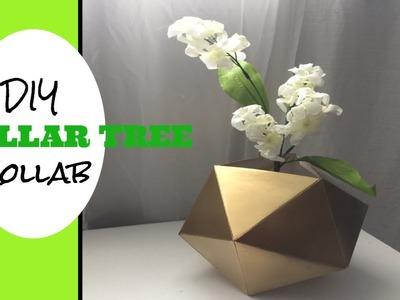 Dollar tree DIY.Modern vase-collab with LifeAt50&Beyond