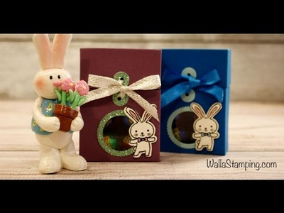Easter Bunny Candy Box