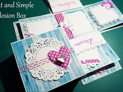 Elegant and Simple Explosion Box | The Sucrafts