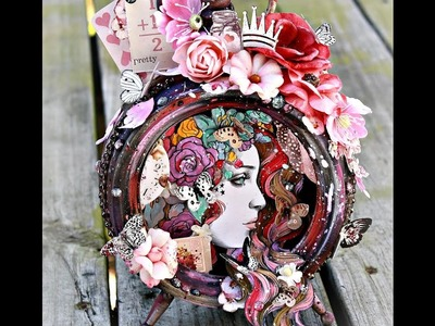 """""""Fit for a Princess"""" Altered Clock with Miranda Edney"""