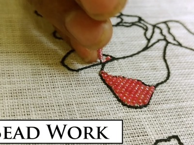 Flower Design Embroidery Part 2 of 3 | Bead Embroidery