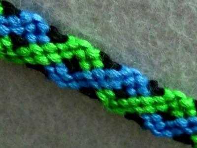 ► Friendship Bracelet Tutorial - Celtic Twist