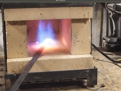 GPW 99 - DIY Gas Forge with Hard Fire Brick