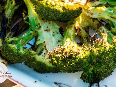 Grilled Broccoli Recipe  | How To Grill Moist Perfectly Cooked Broccoli