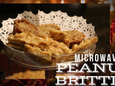 Holiday Peanut Brittle - Microwave Style
