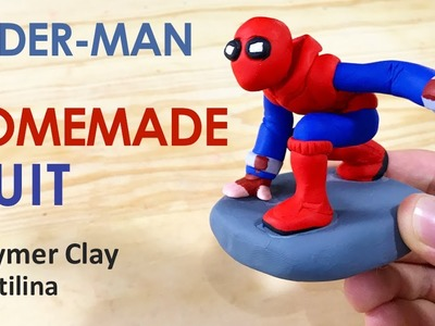 Homemade Suit (SPIDER-MAN Homecoming) - Polymer Clay Tutorial