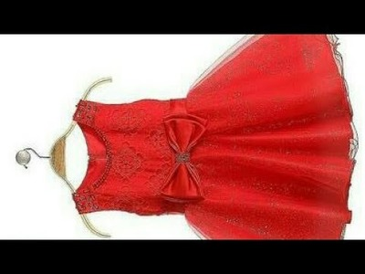How to cutting a baby umbrella frock ,. .belt and Pocket wali full  process